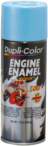 Dupli-Color (EDE161607-6 PK) Pontiac Blue Metallic Engine Enamel with Ceramic - 12 oz. Aerosol, (Case of 6)