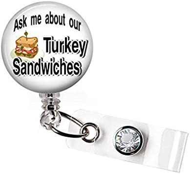 Indian Turkey Badge Reel