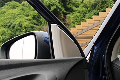Lot de 2 garnitures dint/érieur en ABS mat pour Kadjar 2015-2019