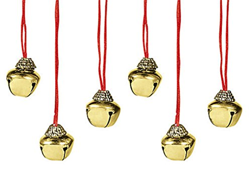 (Charmed By Dragons Holiday Jingle Bell Necklace Lot of 6)