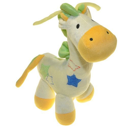 Bear Musical Pull - Giraffe Toys Infant Educational Musical Pull Baby Doll Super Soft Baby Toy Yellow