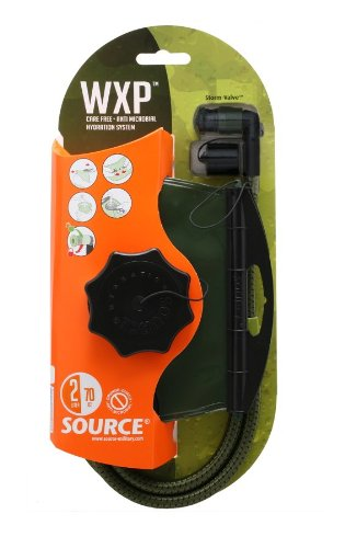 Source Tactical WXP 3 Liter Hydration Reservoir Leakproof Antimicrobial System with Storm Valve
