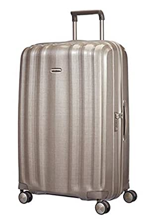 Samsonite 58625 Lite-Cube Spinner Hard Side Cabin Trolley, Ivory Gold, 82 Centimeters