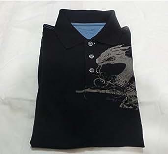 Blue Signature Pique Polo For Men Size - S