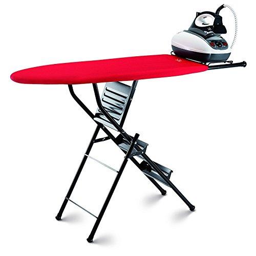color aleatorio takestop/® doble funci/ón de escalera//taburete de 3 pelda/ños tabla resistente Tabla de planchar plegable