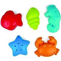 Hape Sea Creatures Sand and Beach Toy Set Toys