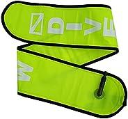 Tachiuwa 4 Foot Nylon Scuba Safety Sausage Surface Marker Buoy Diving Equipment (SMB)
