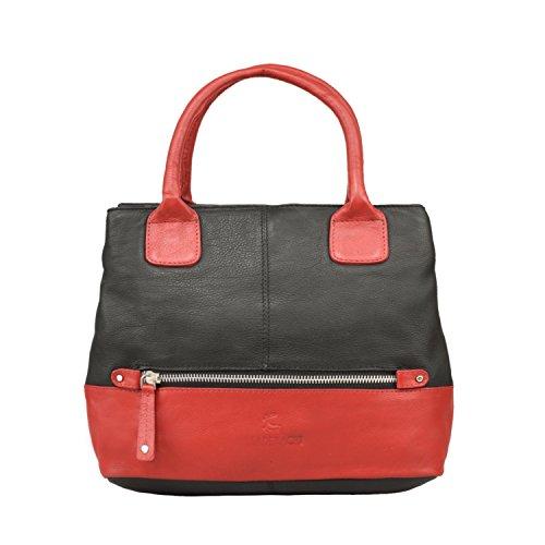 Leaderachi - 100% High Quality Women's New Fashion Handbag Genuine Leather Shoulder Bags Tote Bags Hot Sale[