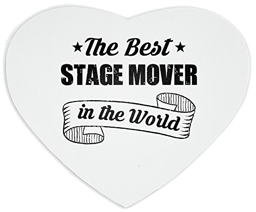 Heartshaped Mousepad with THE BEST Stage Mover IN THE WORLD (Mouse Mover)