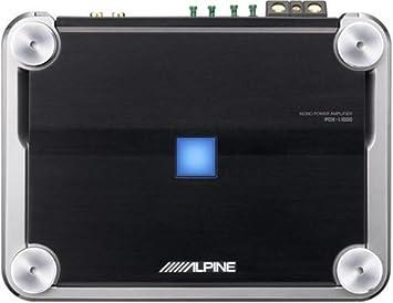 Densidad Alpine PDX-1.1000 Mono Amplificador de potencia Digital 1000 Watts