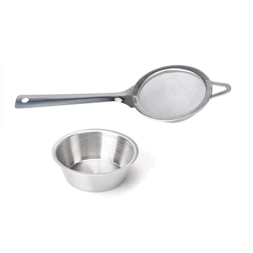 XFentech Mango Largo Filtro de te - Cocina Filtros de Acero ...