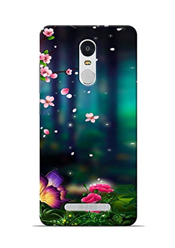 Print Station Printed Back case Cover for Xiaomi Redmi Note 3 6689