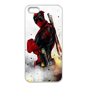 Deadpool iPhone 5 5s Cell Phone Case White JU0057095