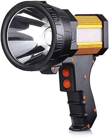 BUYSIGHT Rechargeable flashlight Lightweight searchlight product image