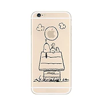 new style cf7ef 6723d iPhone 5 5S SE Case by licaso® for the iPhone 5 5S SE TPU Case Snoopy  Dreams Night The Peanuts Clear Protective Cover iphone5 Mobile Phone Sleeve  ...