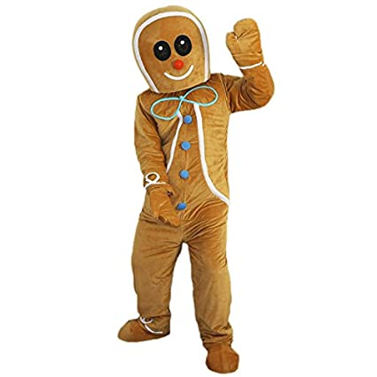 gingerbread man bear cat animal christmas halloween outfit fancy dress suit small160