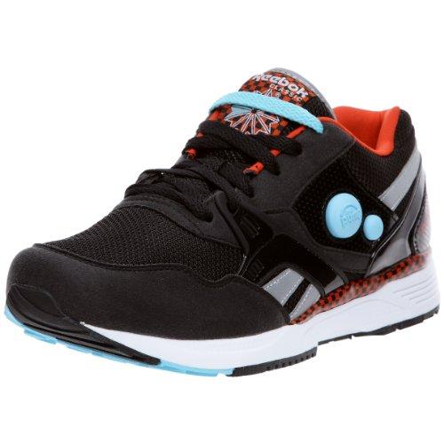 Dual Chaussures Bleu multisport Pump Noir Reebok Blanc Running Argent homme Rouge qOBwEa