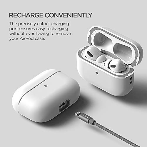 VRS Design Modern for Apple Airpods Pro Case (2019) White