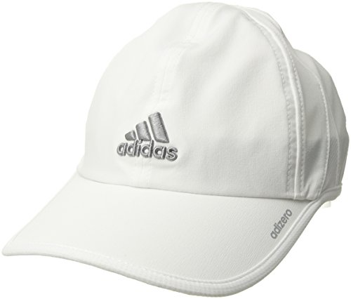 Baseball Golf Visor - adidas Women's Adizero II Cap, White/Light Onix, One Size