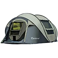 Candora Speed Open Tent Outdoor 4-6 People Fully...