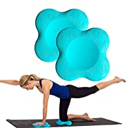 ZEALTOP Yoga Knee Pad Cushion Extra Thick for Knees Elbows Wrist Hands Head Foam Yoga Pilates Work Out Kneelin