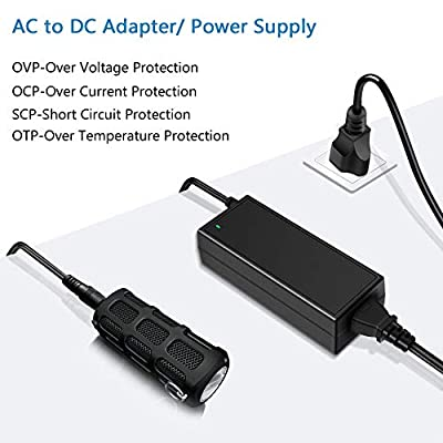 SHNITPWR 24V 3A DC Power Supply Adapter AC 100V~240V to DC 24 Volt 3 Amp 72W Converter Transformer 5.5x2.5mm Plug for 5050 3528 LED Strip Light 3D Printer LED Driver CCTV Security System LCD Monitor: Home Audio & Theater