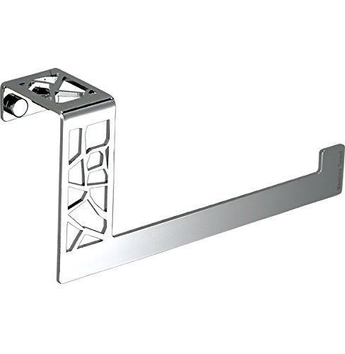 Trancadis Bathroom Small Towel Ring Holder, Polished Chrome, Wall Mounted Bathroom Accessories Towel Rack, Made in Spain (European Brand) by Hispania bath