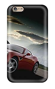 Iphone 6 Case Cover Slim Fit Tpu Protector Shock Absorbent Case Alfa Romeo 4c 18