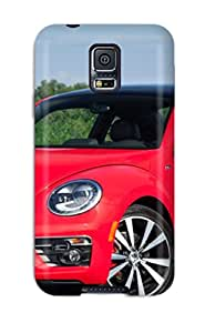 Protective Tpu Case With Fashion Design For Galaxy S5 (volkswagen Beetle 7)