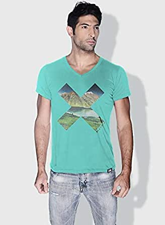 Creo Almaty X City Love T-Shirts For Men - Xl, Green