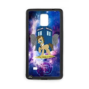 Fayruz- Personalized My Little Pony Protective Hard Rubber Phone Case for Samsung Galaxy Note 4 Note4 Cover I-N4O991