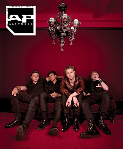 Alternative Press // #360.1 5 Seconds Of Summer [5SOS] Red Lounge Edition
