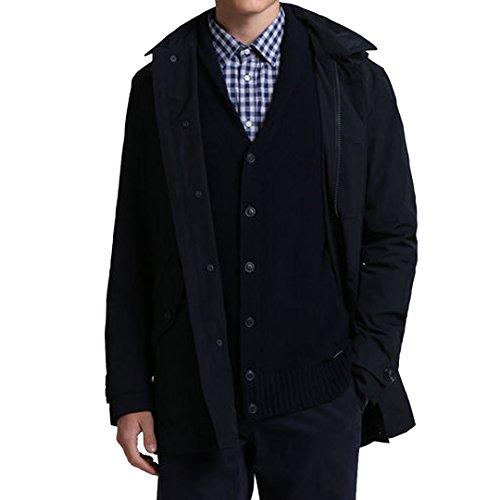 Woolrich Blu City Coat Woolrich City 1xzp1T
