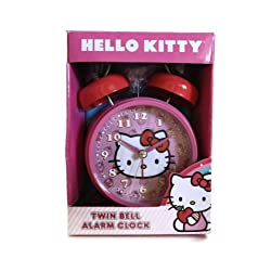 Hello Kitty Twin Bell Alarm Clock