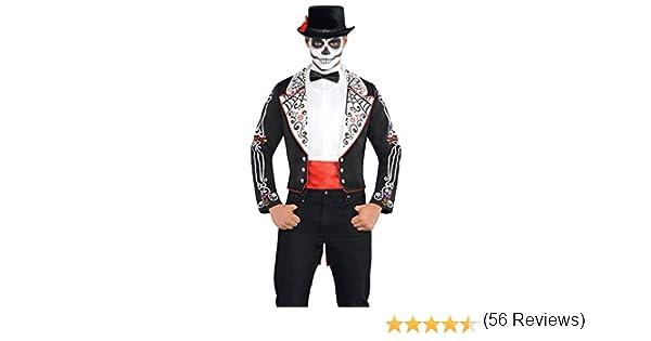 amscan- Disfraz de Halloween de Día de los Muertos, 1 Unidad ...