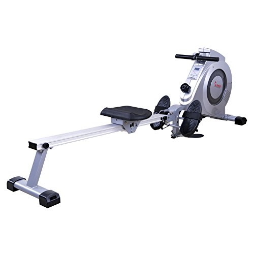 Sunny Health & Fitness SF-RW5612 Dual Function Rowing Machine Rower w/LCD Monitor