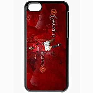 Personalized iPhone 5C Cell phone Case/Cover Skin Berbatov manchester united Black