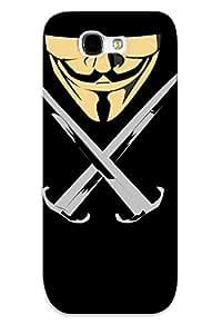 YTEwBsi3102DjksH Hot Fashion Design Case Cover For Galaxy Note 2 Protective Case (v For Vendetta)
