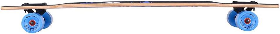 Playshion Drop Through Freestyle Longboard - 3