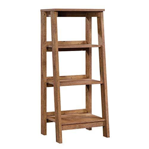 - Sauder 424123 Trestle 3-Shelf Bookcase, L: 19.06