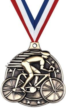 Gold Cycling Medals - 2