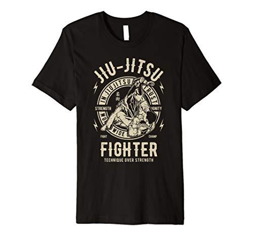 Jiu Jitsu Martial Arts MMA Karate Taekwondo Graphic Vintage Premium T-Shirt