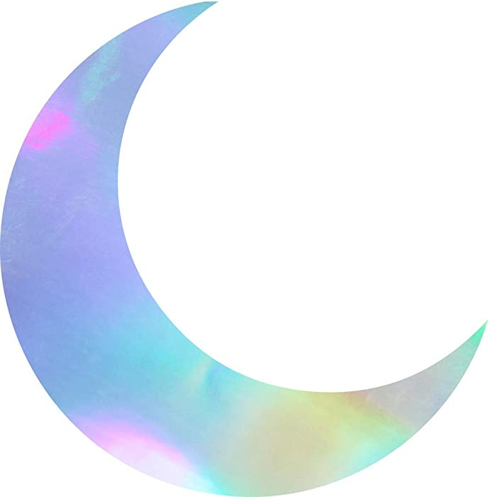 The Best Crescent Moon Decal For Laptop