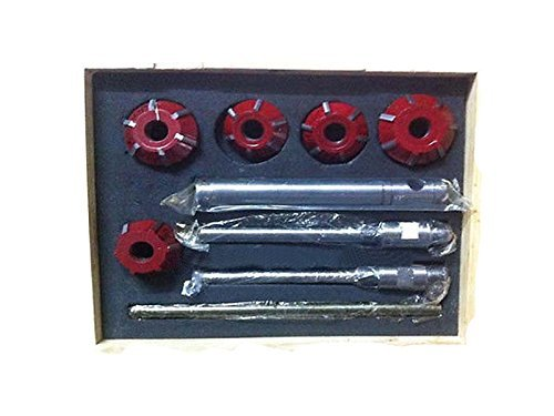 (Carbide Valve Seat Cutter 5 Cutter Set for Vintage Car & Bikes 20 & 45 Degree)