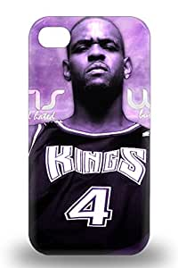 Iphone Skin Case Cover For Iphone 4/4s Popular NBA Sacramento Kings Chris Webber #4 Phone Case