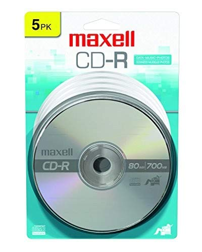 Maxell 648220 CD-R 700, 5 Pack-Card   (648220) Accessory Consumer Accessories