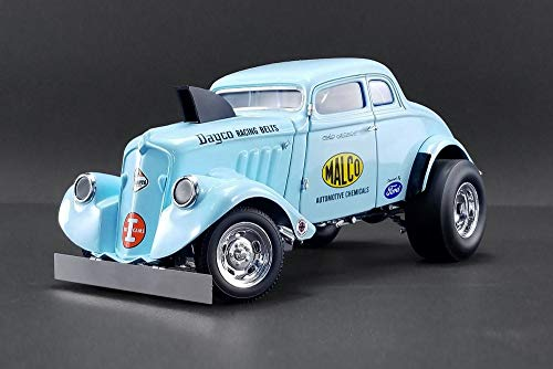 - 1933 Malco Gasser with Air Dam, Light Blue - Acme 1800911 - 1/18 Scale Diecast Model Toy Car