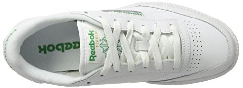 Int Green Club 85 Reebok Uomo Sneaker Bianco C White wgYAqAd8