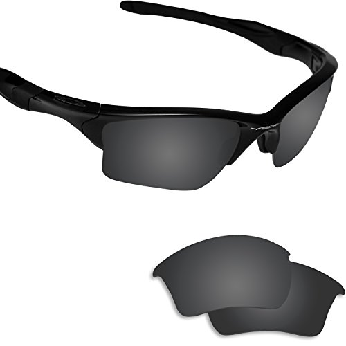 Fiskr Anti-saltwater Polarized Replacement Lenses for Oakley Half Jacket 2.0 XL Sunglasses (Lenses Jacket Half Oakley)