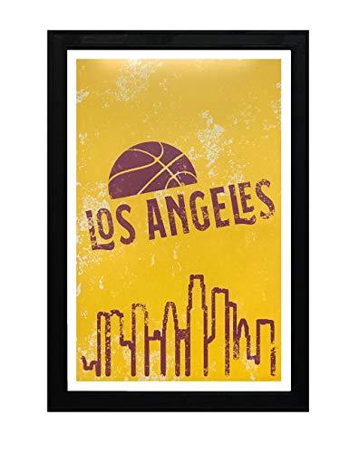 Buy vintage lakers poster